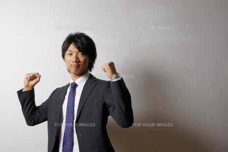 若いビジネスマンのポートレートの写真素材 [FYI00425318]