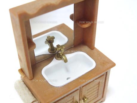 洗面台の写真素材 [FYI00425371]