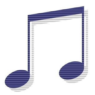 音符の写真素材 [FYI00425402]