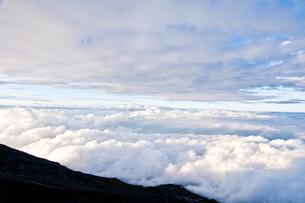 富士雲海の写真素材 [FYI00425536]