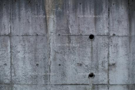 コンクリート壁の写真素材 [FYI00425552]