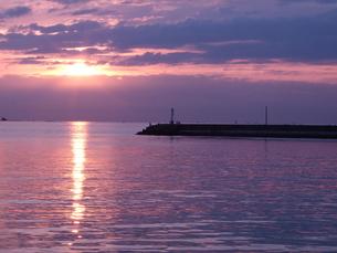 夕陽の写真素材 [FYI00425592]