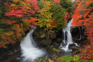 竜頭の滝の写真素材 [FYI00425666]