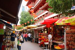 シンガポール、チャイナタウンの写真素材 [FYI00425921]