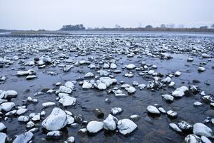 冬の荒川の素材 [FYI00425947]