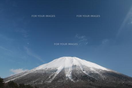冬の大山の写真素材 [FYI00425966]