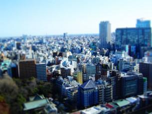 御茶ノ水から眺める東京の写真素材 [FYI00426269]