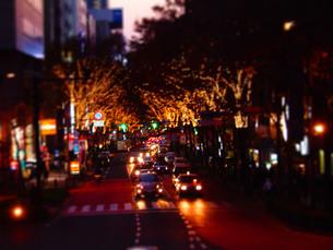 渋谷の夜の写真素材 [FYI00426279]