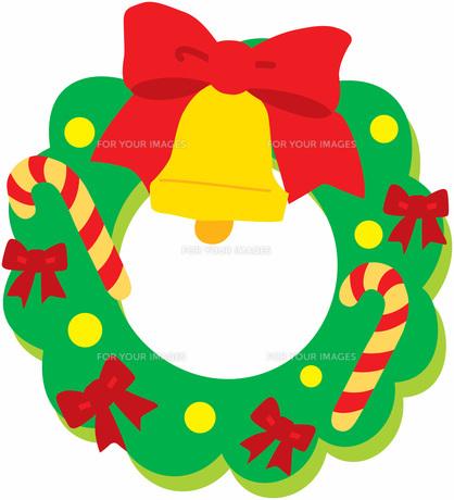 クリスマスリースの写真素材 [FYI00427410]