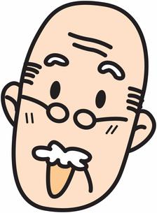 男性の顔の素材 [FYI00427467]