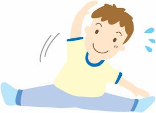 運動する男の子の写真素材 [FYI00427505]