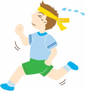 走る男の子の写真素材 [FYI00427524]