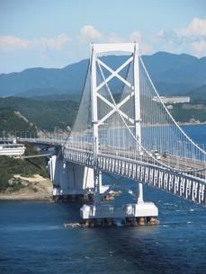 大鳴門橋の写真素材 [FYI00427719]