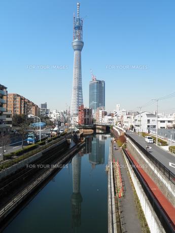 東京スカイツリー594mの写真素材 [FYI00427795]