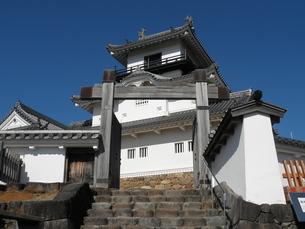 掛川城天守閣の写真素材 [FYI00427815]