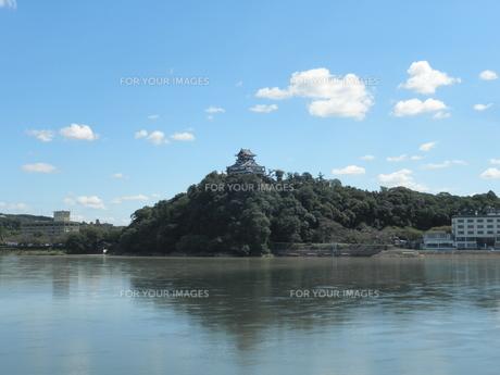 犬山城と木曽川の素材 [FYI00427927]