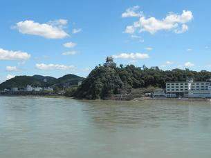 犬山城と木曽川の素材 [FYI00427931]