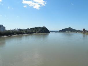 犬山城と木曽川の素材 [FYI00427933]