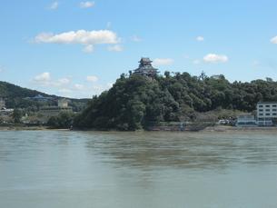 犬山城と木曽川の素材 [FYI00427941]