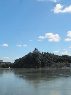 犬山城と木曽川の素材 [FYI00427942]