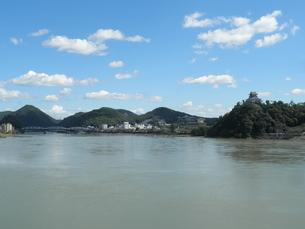犬山城と木曽川の素材 [FYI00427943]