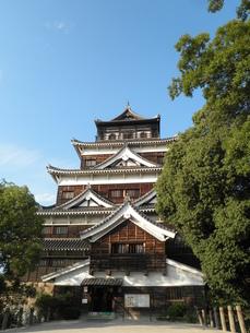 広島城天守閣の写真素材 [FYI00427952]