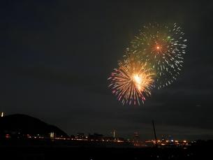 長良川全国花火大会の写真素材 [FYI00428031]