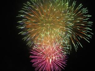 長良川全国花火大会の写真素材 [FYI00428034]