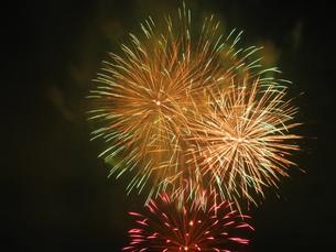 長良川全国花火大会の写真素材 [FYI00428035]