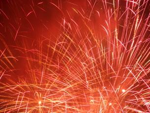 長良川全国花火大会の写真素材 [FYI00428036]