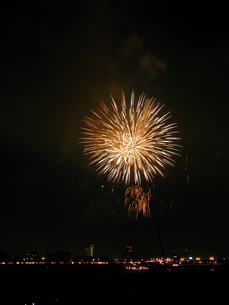 長良川全国花火大会の写真素材 [FYI00428038]