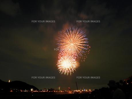 長良川全国花火大会の素材 [FYI00428039]