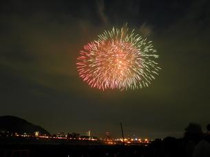 長良川全国花火大会の写真素材 [FYI00428044]