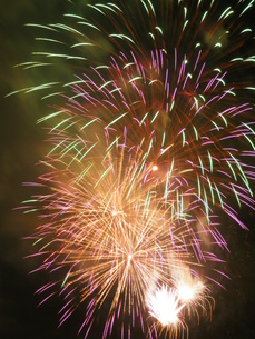 長良川全国花火大会の写真素材 [FYI00428048]