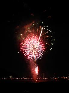 長良川全国花火大会の写真素材 [FYI00428061]