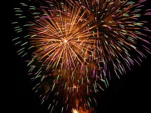 長良川全国花火大会の写真素材 [FYI00428062]