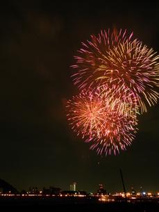 長良川全国花火大会の写真素材 [FYI00428063]