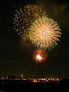 長良川全国花火大会の写真素材 [FYI00428076]
