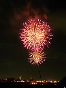 長良川全国花火大会の写真素材 [FYI00428077]
