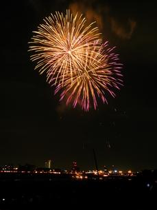 長良川全国花火大会の写真素材 [FYI00428079]