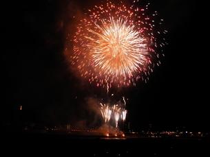 長良川全国花火大会の写真素材 [FYI00428084]
