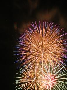 長良川全国花火大会の写真素材 [FYI00428092]