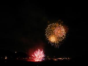 長良川全国花火大会の写真素材 [FYI00428101]