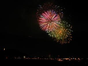 長良川全国花火大会の写真素材 [FYI00428107]
