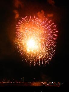 長良川全国花火大会の写真素材 [FYI00428113]