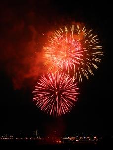 長良川全国花火大会の写真素材 [FYI00428119]