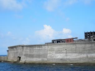 軍艦島の写真素材 [FYI00428121]