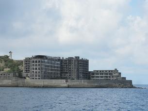 軍艦島の写真素材 [FYI00428147]