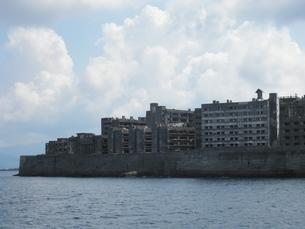 軍艦島の写真素材 [FYI00428171]