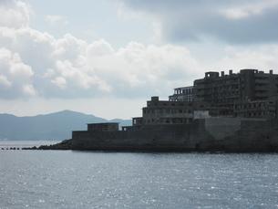 軍艦島の写真素材 [FYI00428175]